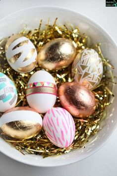 Ester Washi Taped Eggs