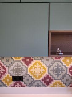 #mosaic #cement #tiles #patchwork #mix #match #mosaictiles #kitchen #kitchentiles #handmade #artemis #tsourlakis #tsourlakistiles
