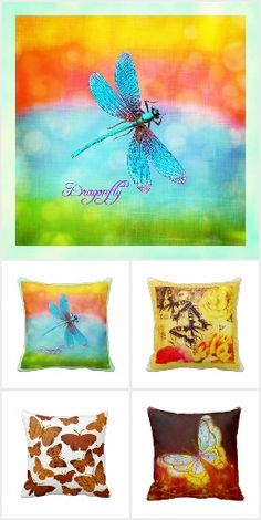 Butterflies & Dragonflies Gift Ideas & Home Decor on Blue Dragonfly, Dragonflies, Beautiful Images, Butterflies, Fantasy, Gift Ideas, Gifts, Design, Home Decor