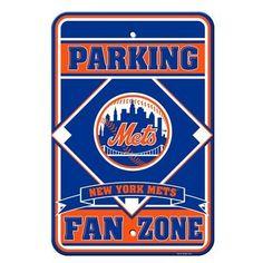 NEW YORK METS PARKING SIGN