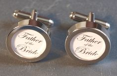 Father of the Bride Cuff Links.