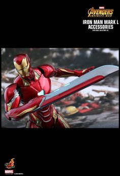 Hot Toys : Avengers: Infinity War - Iron Man Mark L scale Accessories Collectible Set Marvel Comics, Marvel Avengers, Iron Heart Marvel, Iron Man Fan Art, Lego Custom Minifigures, Stark Industries, Star Wars Ships, Marvel Wallpaper, Funny Animal Videos