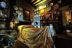 Stanza della Leda (Leda's room). Vittoriale degli Italiani, Lombardy, Italy.