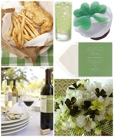 Host a stylish luncheon for friends filled with fashionable Irish flare for St. St Pattys, St Patricks Day, Saint Patricks, Erin Go Bragh, St Paddys Day, Irish Recipes, Luck Of The Irish, Summer Parties, Holiday Fun