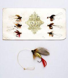 Antique Orvis Flies