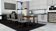 Sims 4 CC's - The Best: Dining Room by MXIMS