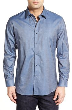 Zagiri 'Voices Carry' Regular Fit Dobby Sport Shirt