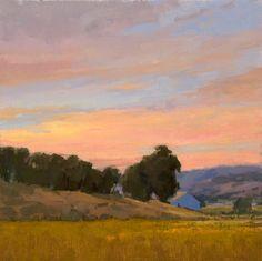 Sunrise on The Turri Ranch by Elizabeth Tolley