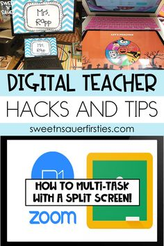 There has never been a greater need for technology in the classroom than this year. Here I am sharing LOTS of digital teacher hacks from a group of incredible teachers. Learn more about their digital tips and tricks which include using time-saving keyboard hacks, Zoom tricks, and MORE! These digital tips include ideas and hacks from a wide variety of digital platforms including Google Slides, Seesaw, and MORE!