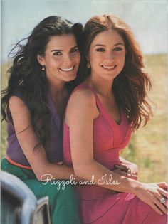 Rizzoli and Isles 2013 | Rizzoli and Isles...both such beautiful women
