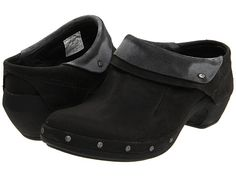 Cute! Not strongly T4, but I need some cute comfortable black shoes good for a 4-mile city walk. Merrell Luxe Wrap