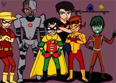 Rafael Merce: Desenho -Titans- DC Comics