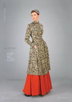 """Samoseli Pirveli"" - Georgian National Costume. City Dwellers Akhalukhi - Collection 2011."
