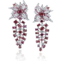 @optimundiamondsnyc. Red Roses earrings