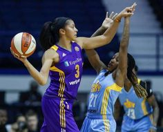 (AP) — Candace Parker is finally in the WNBA Finals. Her first trip to the championship caps off an eventful, and at times difficult, year for the Los Candace Parker, Wnba, The Championship, Sports Women, Surfing, Women's Basketball, Football, Sky, Scores