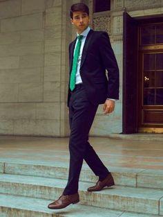 Beautiful man in suit