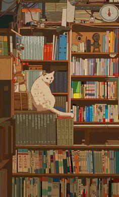 The Art Showcase Anime Scenery Wallpaper, Aesthetic Pastel Wallpaper, Cute Anime Wallpaper, Wallpaper Iphone Cute, Cute Cartoon Wallpapers, Animes Wallpapers, Aesthetic Wallpapers, Aesthetic Art, Aesthetic Anime