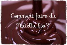 Je dois avouer que j'adore le Nutella. Pourtant la composition de cette pâte à tartiner n'a rien de bio, ni de diététique! Voici ma recette de Nutella Bio