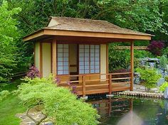 A Traditional Japanese Tea House. A Must To Visit On Any Japanese Vist.