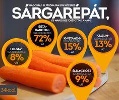 A sárgarépa alapvető zöldségfélénk, főleg levesekben találkozunk vele. Érdemes azonban változatosabban készíteni, hogy jó tulajdonságai még hatékonyabban érvényesülhessenek! http://www.nosalty.hu/ajanlo/nem-csak-levesbe-valo
