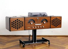 brionvega 'musical pet' designer record player is just like bowie's