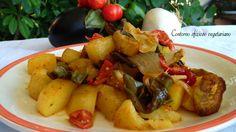 Contorno sfizioso vegetariano Un contorno o secondo piatto con ingredienti…
