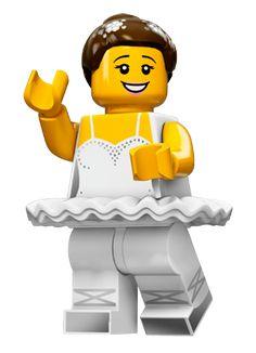 Lego Series 15 Minifigures 71011 minifigure ballerina