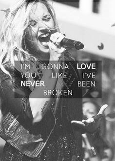 Demi Lovato-Unbroken