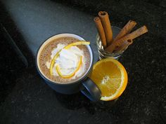 Frothy Mexi-Mocha Coffee. Omg this looks so good!