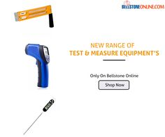 New Range of #Test & #Measure Equipment's Shop Today & Get #Massive #Discount Only on Bellstone Online.