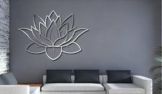 Arte de pared de metal decorativo láser corte Panel escultura