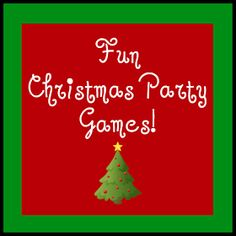 The Christian Wife Life: fun Christmas party games.
