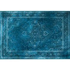 Dutchbone Rugged Ocean Vloerkleed 200 x 300 cm Shag Carpet, Blue Carpet, Diy Carpet, Modern Carpet, Carpet Colors, Carpet Flooring, Outdoor Carpet, White Carpet, Deep Carpet Cleaning