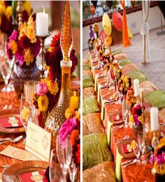 -Wedding decoration : Moroccan inspiration   Weddings on the French ...