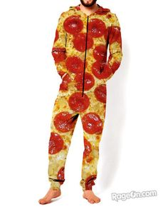 Pizza Jumpsuit *Ready to Ship* - RageOn! - The World's Largest All-Over-Print Online Store