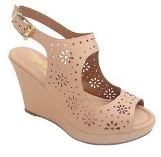 Anabelas | Anabelas | Gabriely Cardoso Girls Sandals, Women's Shoes Sandals, Wedge Shoes, Kanjipuram Saree, Oasis Dress, Shoe Box, Huaraches, Comfortable Shoes, Wedding Shoes