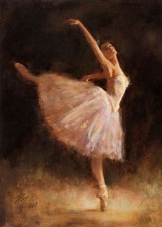 Richard Judson Zolan - The Passion Of Dance Art Print. Explore our collection of Richard Judson Zolan fine art prints, giclees, posters and hand crafted canvas products Ballerina Kunst, Ballerina Painting, Stretched Canvas Prints, Framed Art Prints, Framed Wall, Dance Paintings, Portrait Paintings, Ballet Art, Dance Ballet