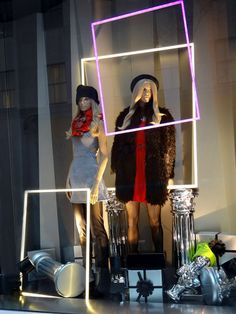 H&M Window Displays