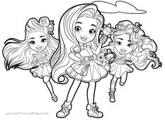 Here Is The L O L Surprise Coloring Page Click The