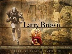One of the Washington Redskins' very best - Mr. Larry Brown