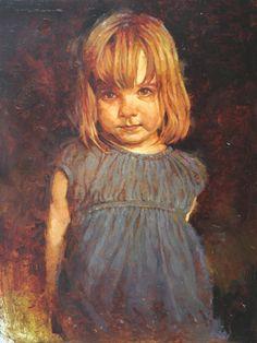 Joseph Lorusso, Coco Bean, oil, 16 x 12.