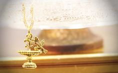 ♦ Nature inspired pretty fountain wishing wells charm and dove necklace. Simple and dainty, great as a layering piece.