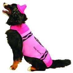 Rasta Imposta Crayola Pink Dog, XX-Large - http://www.thepuppy.org/rasta-imposta-crayola-pink-dog-xx-large/