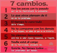 7 Cambios