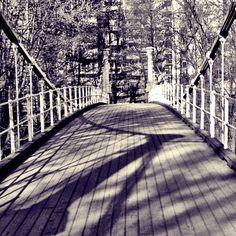 "#100 manns broa"" v/Akerselva, Sagene, Oslo  ""100 man bridge""  #Oslo #Norway"