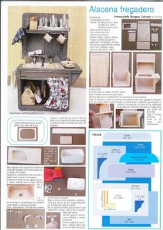 Resultado de imagen para tutoriales de muebles minis