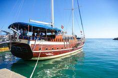 Caicco a quattro stelle a Lampedusa - hotel di lusso