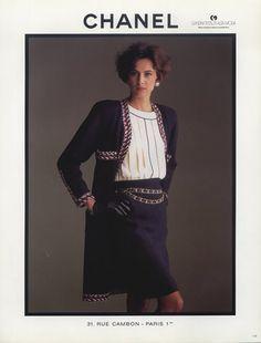 Chanel (Couture) 1986 Inès De La Fressange