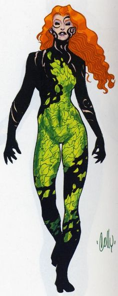 Poison Ivy Coloring Page Google Search Coloring