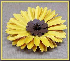 Handmade Paper Sunflower Tutorial                                                                                                                                                     More